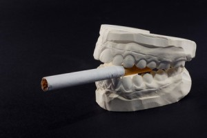 cigarettes and teeth